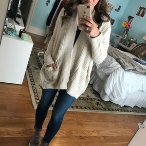 Nordstrom Dreamers By Debut Open Cardigan XS